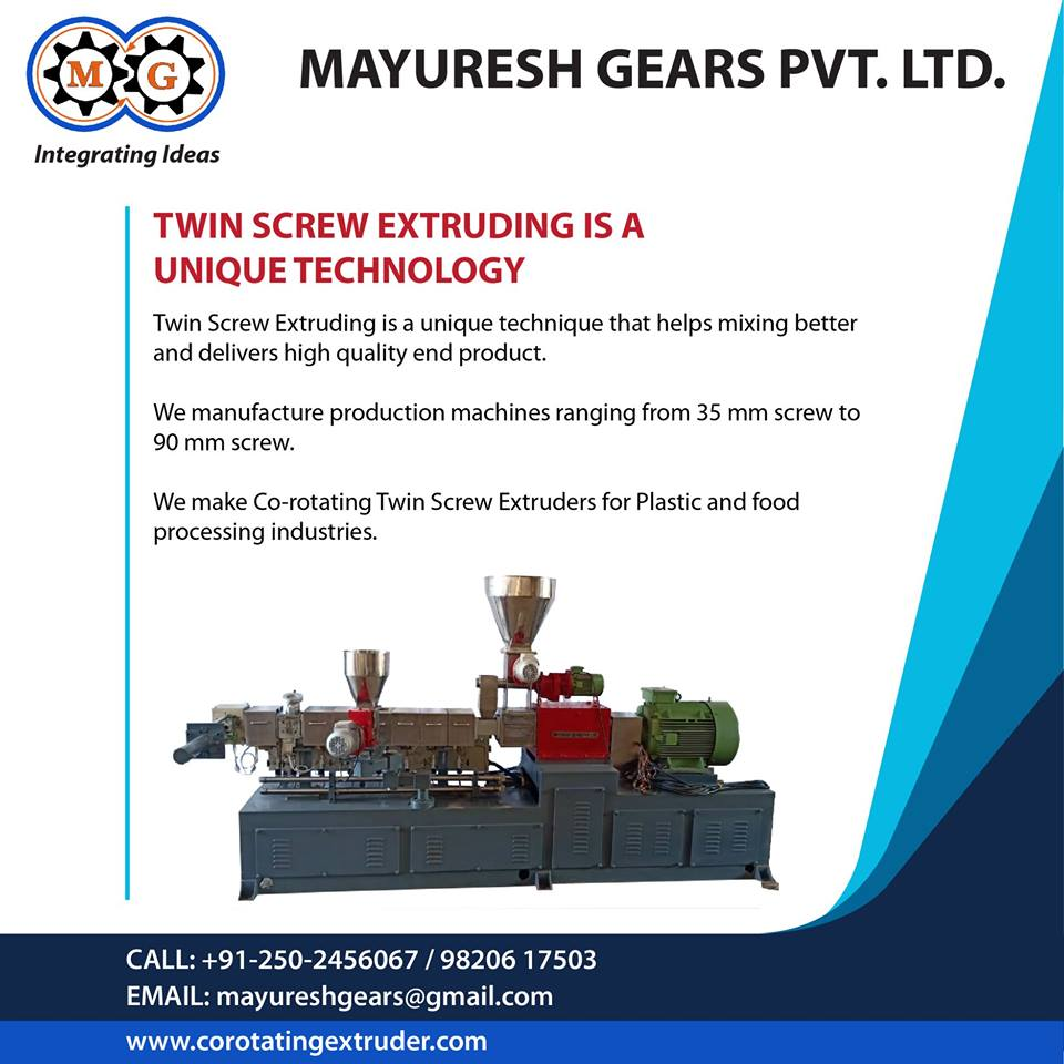 Twin Screw Extruding is a Unique Technology