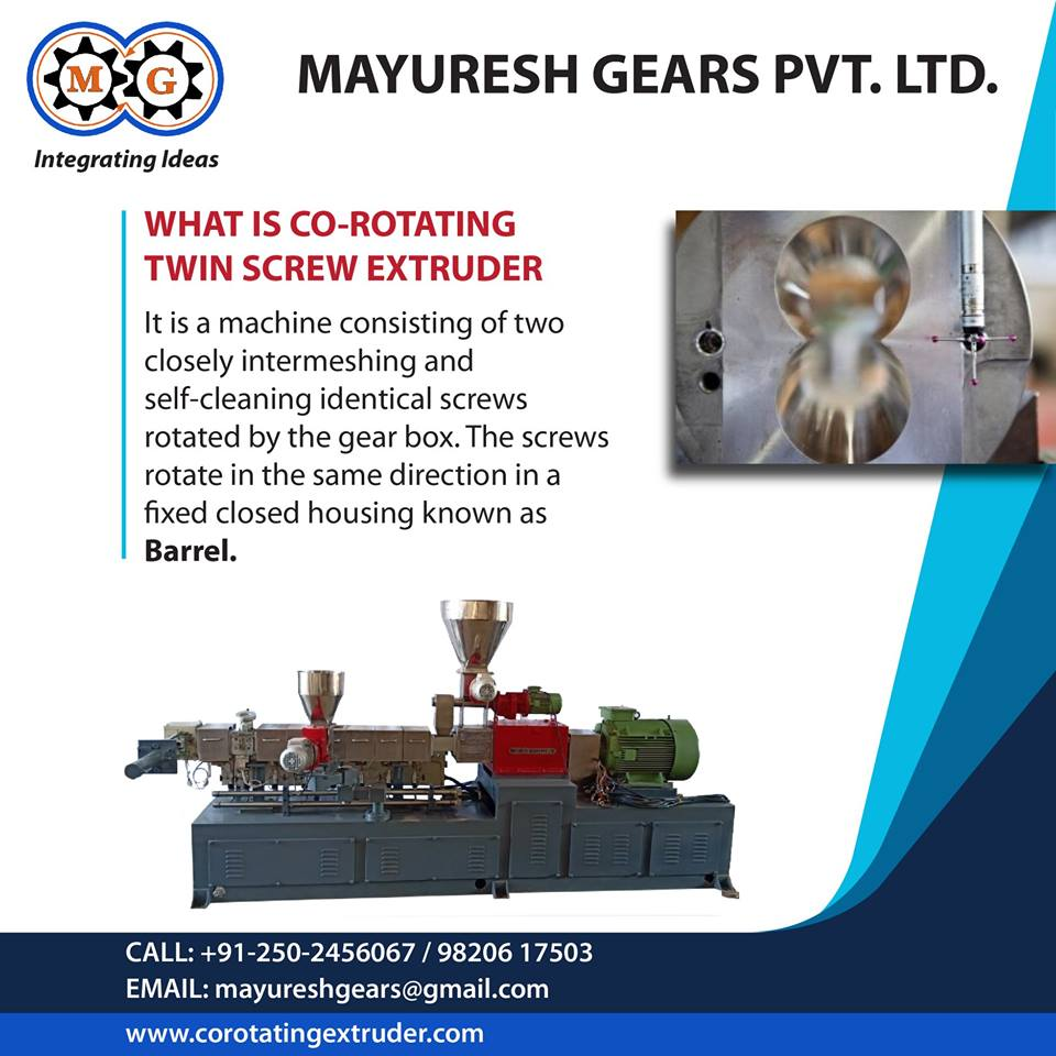 What is Co-rotating Twin Screw Extruder