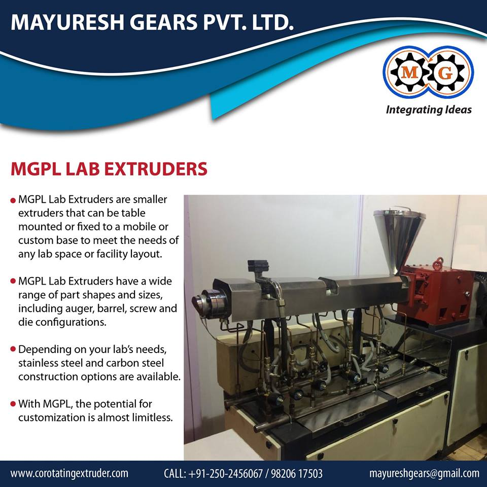 MGPL Lab Extruder