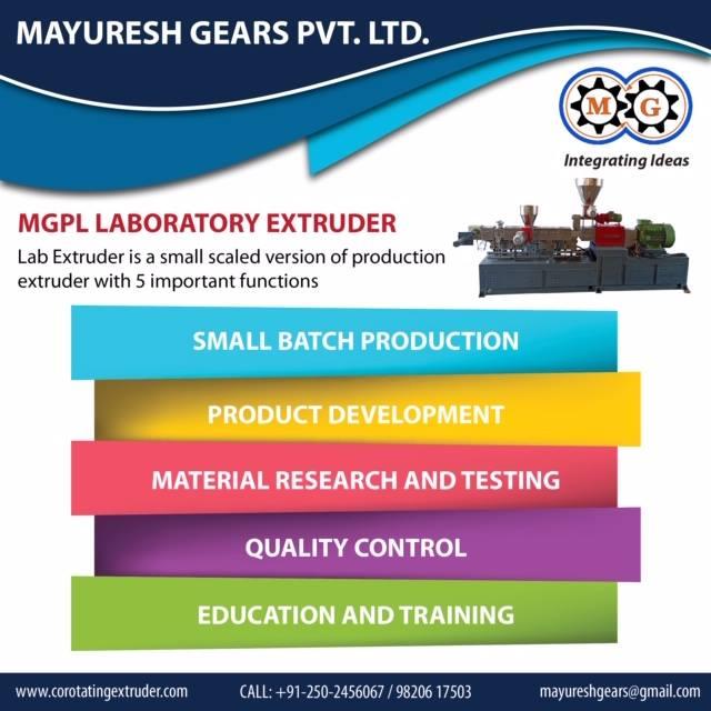 MGPL Laboratory Extruder