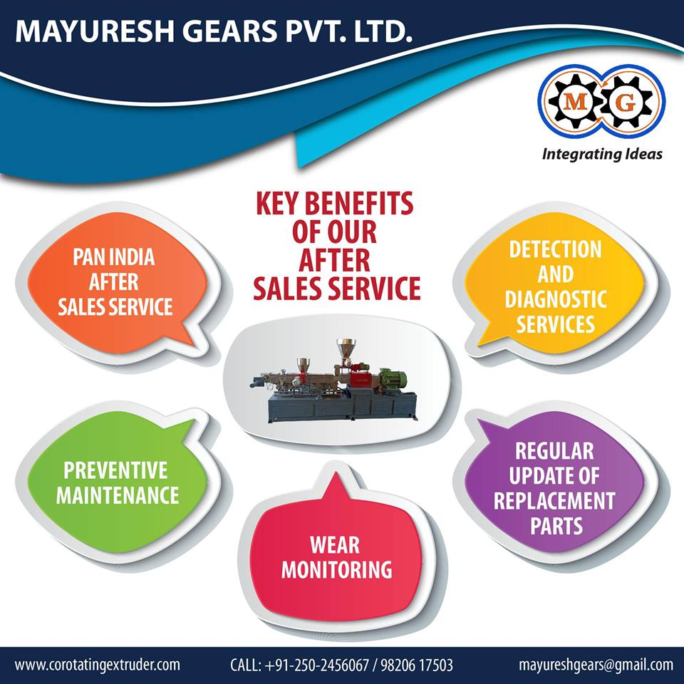 Key Benefits of our after sales services
