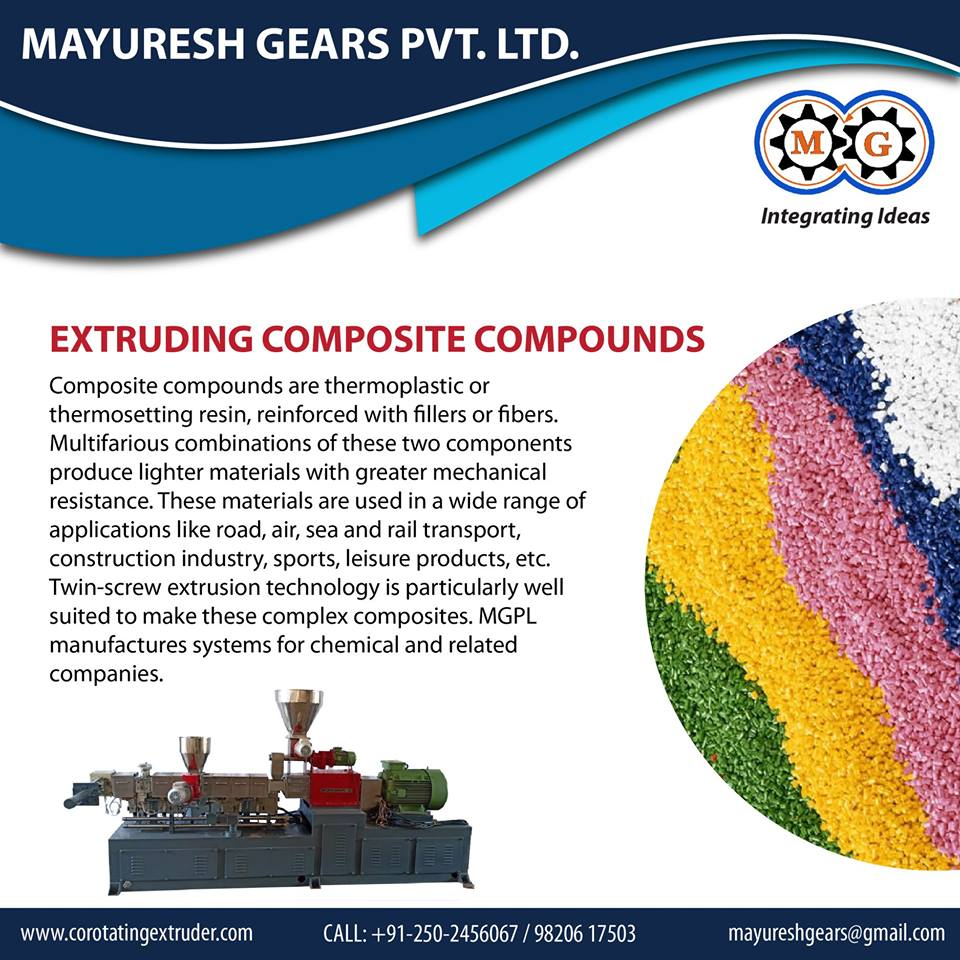EXTRUDING COMPOSITE COMPOUNDS
