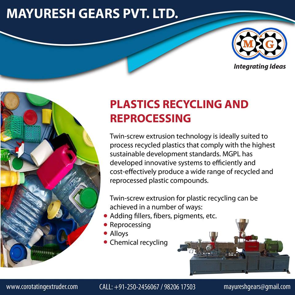 PLASTICS RECYCLING AND REPROCESSING