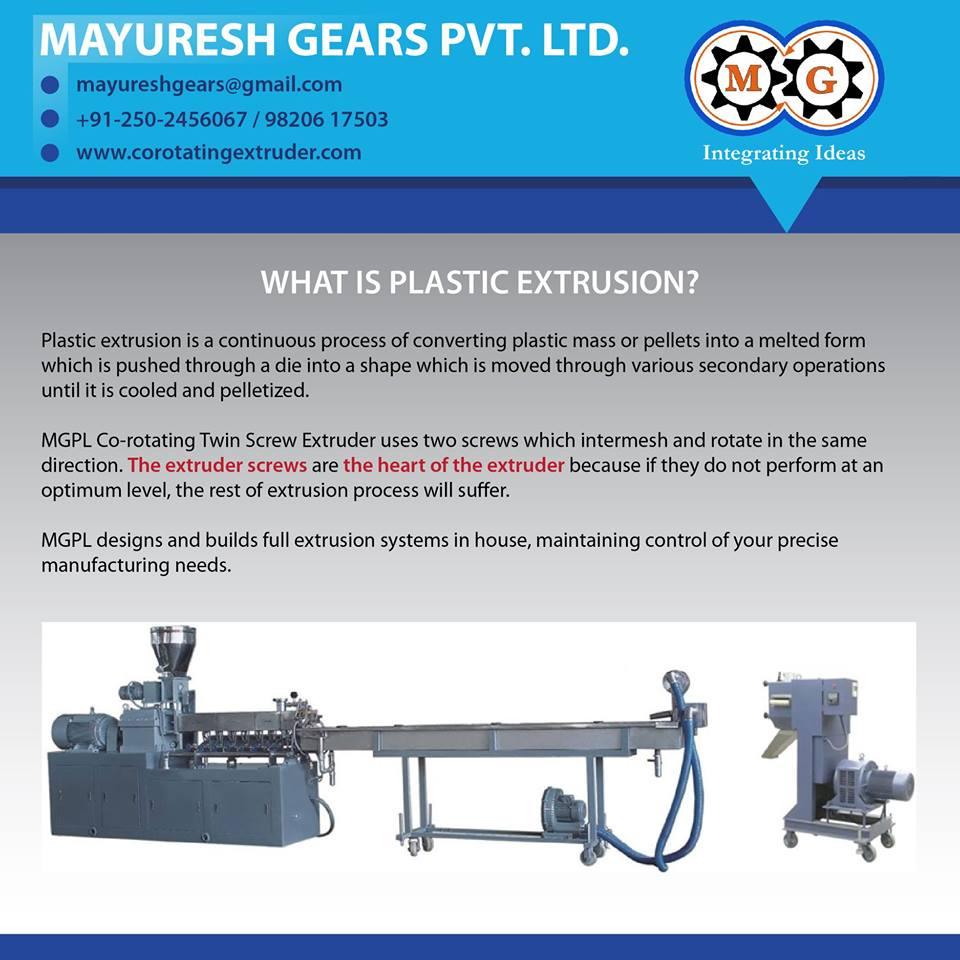 WHAT IS PLASTIC EXTRUSION?