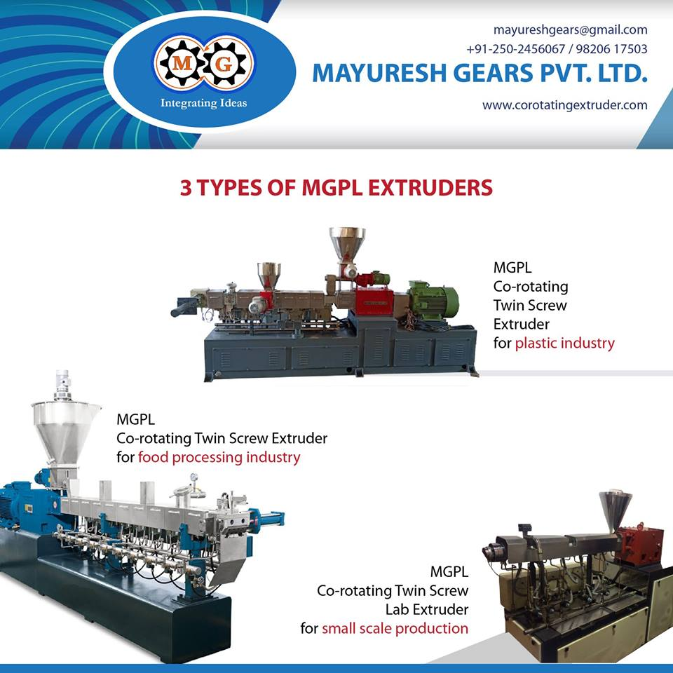 3 TYPES OF MGPL EXTRUDERS