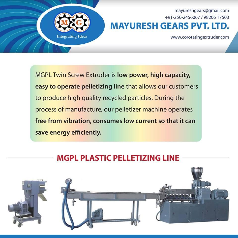 MGPL Plastic Pelletizing Line