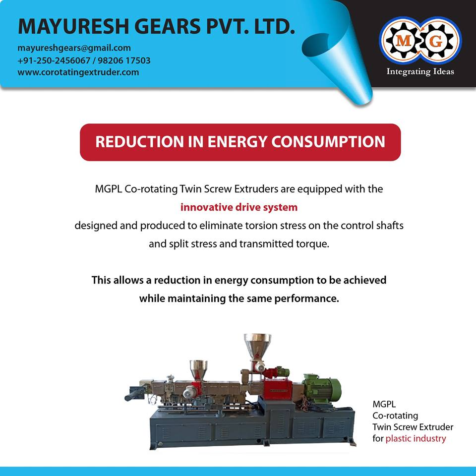 REDUCTION IN ENERGY CONSUMPTION