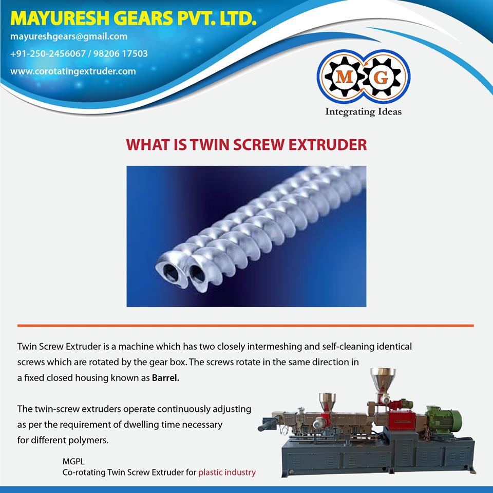 WHAT IS TWIN SCREW EXTRUDER