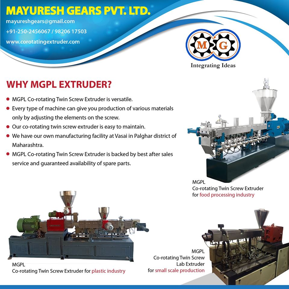 WHY MGPL EXTRUDER?